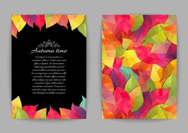 Autumn banners. Vector illustration