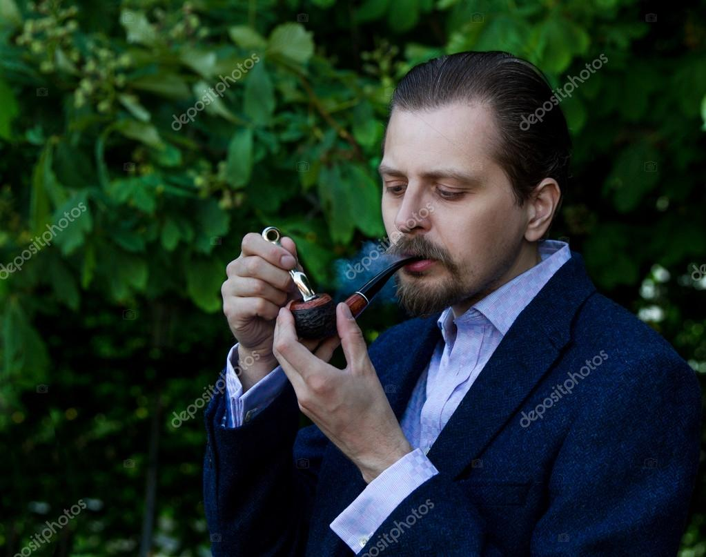 Question interesting, young men smoking pipes has