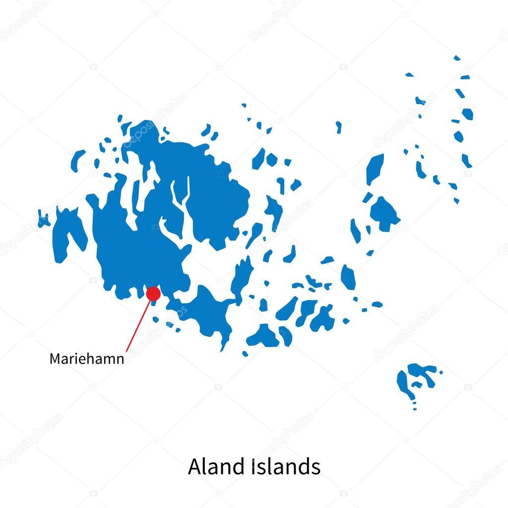 Detaljerad Karta Over Aland Karta 2020