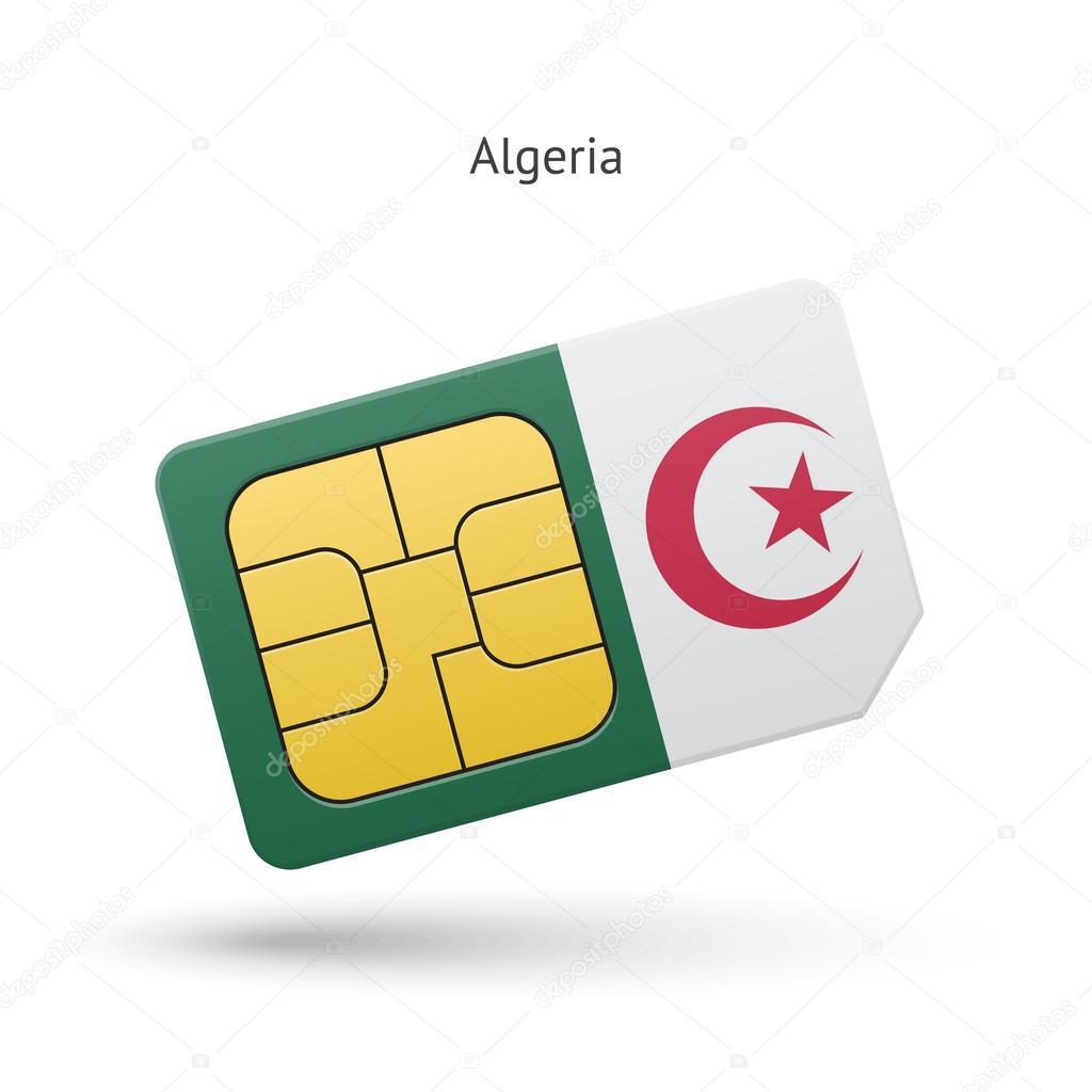 Carte Sim Algerie.Carte De Sim De Telephone Mobile De L Algerie Avec