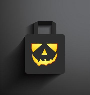 Halloween sale shopping bag