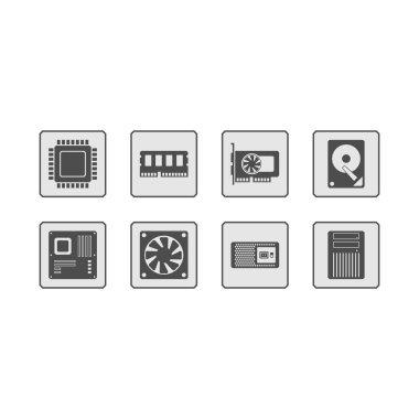 Computer Hardware Web Icons