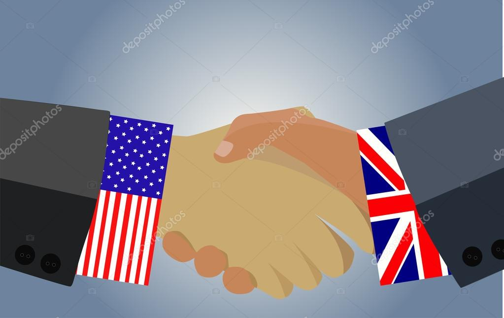 Handshake An Agreement Between The Uk And The United States On A