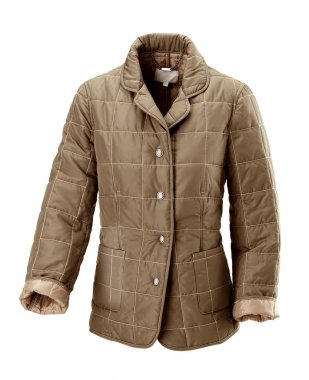 brown coat for woman