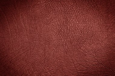 wine color leather surface
