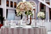 Fotografie Table set for an event party or wedding reception