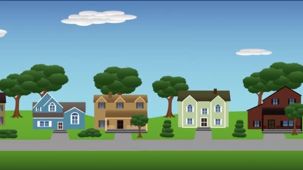 Városkörnyéki házak le utca 4k
