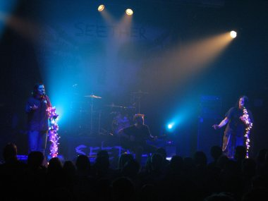 Seether Live in Concert with Guest Vocalist
