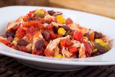 Mexican chili chicken stew