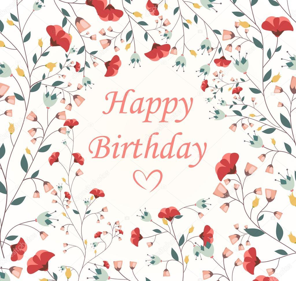 mooie verjaardagskaart stockvector bejotrus 75848365