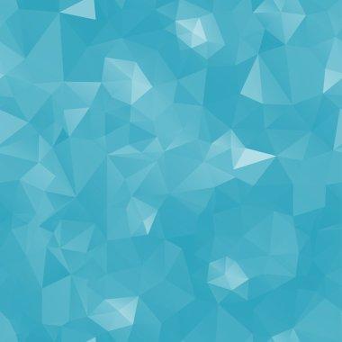 Crystals frozen background. Design template. Seamless pattern. Vector illustration