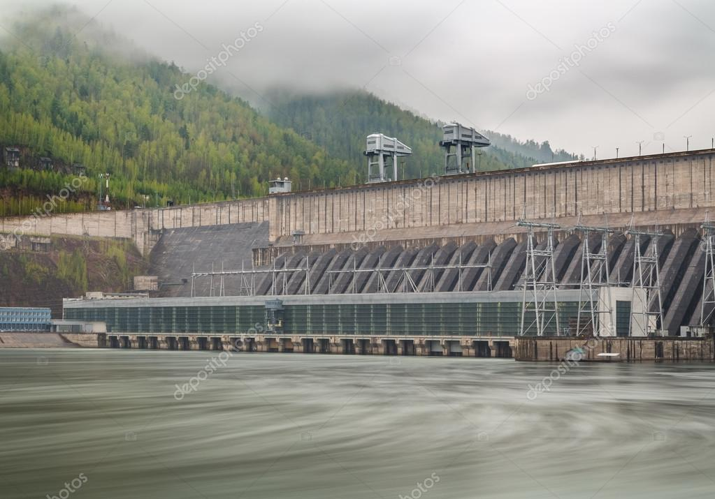 Fog Over the Hydroelectric Power Station