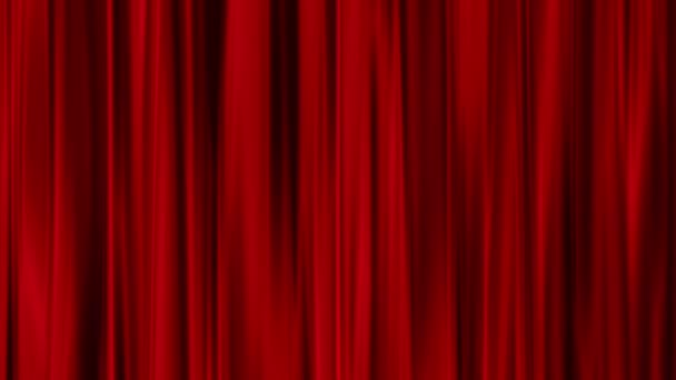 Red Curtains Open Transparent Background
