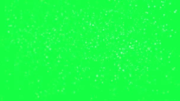 chutes de neige isol sur fond vert vid o art siberia 72880709. Black Bedroom Furniture Sets. Home Design Ideas