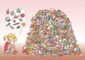najdete objekty vizuální hra. řešení ve skryté vrstvě