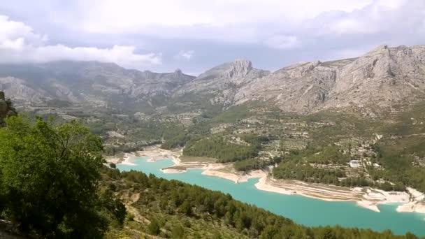 Beautiful landscape in mountain village Guadalest, Spain