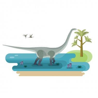 Giant Herbivore Diplodocus