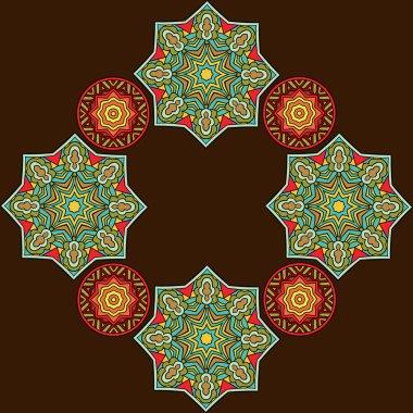 Decorative Arabic Style Background
