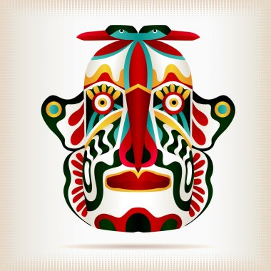 Native Indian American Style Mask