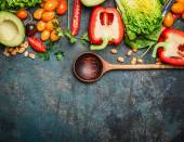 čerstvá zelenina barevné