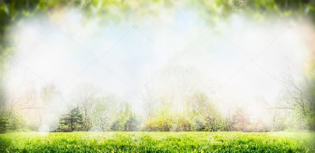 Sprig nature background