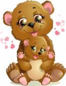 Fotografie dva medvědi