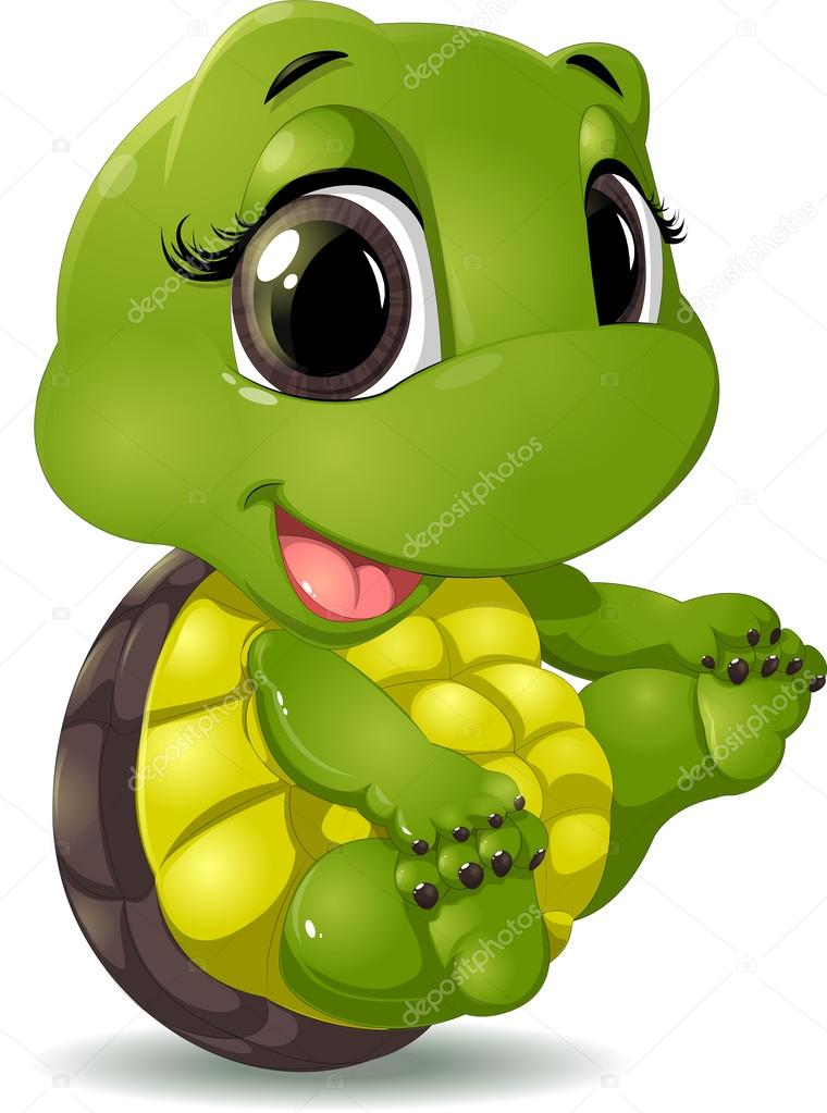 Turtle Cartoon Picture For Kids