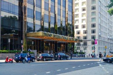 NEW YORK - Entrance to Trump skyscraper In New York City, NY, USA