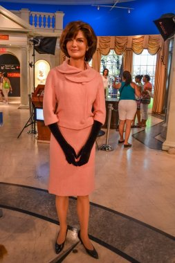 Jacqueline Kennedy wax figure in Madame Tussaud's museum in New York