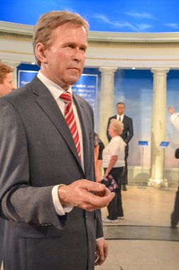 George Walker Bush wax figure in Madame Tussaud's museum in New York