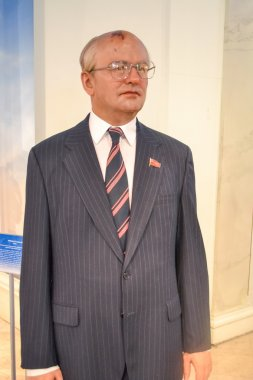 Mikhail Gorbachev wax figure in Madame Tussaud's museum in New York