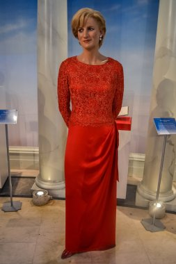 Diana, Princess of Wales wax figure in Madame Tussaud's museum in New York