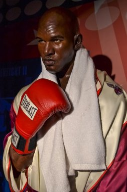NEW YORK, CIRCA 2011 - Mike Tyson wax figure in Madame Tussaud's museum in New York