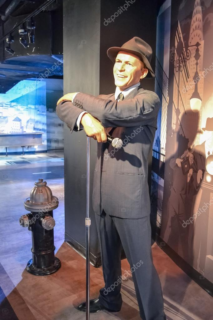 Frank Sinatra's wax figure in Madame Tussaud's museum in New York