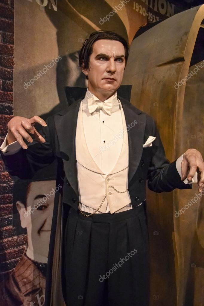 Dracula's wax figure in Madame Tussaud's museum in New York