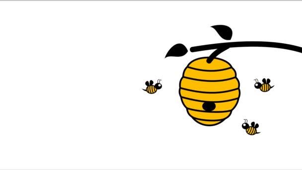 3 včely zpět do úlu