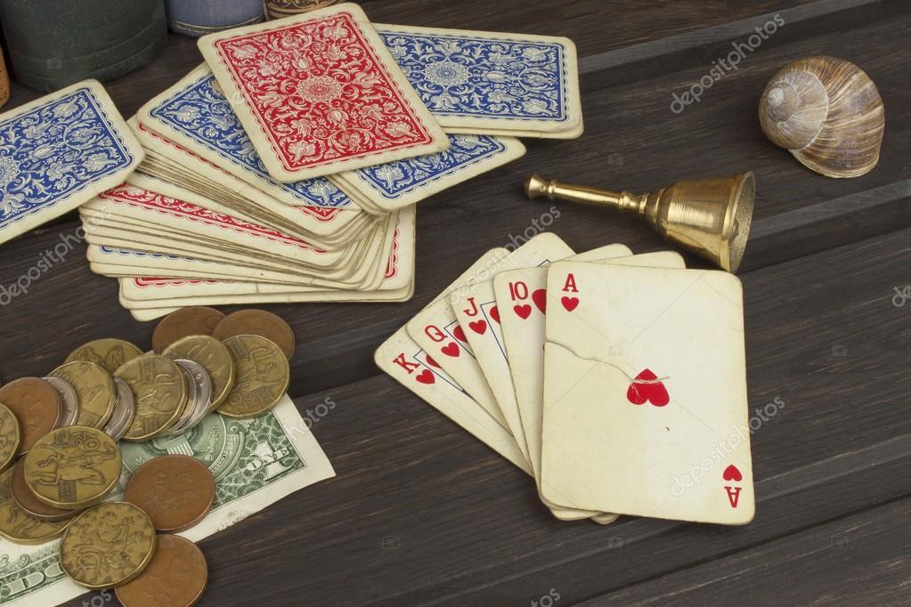 картежная игра на деньги