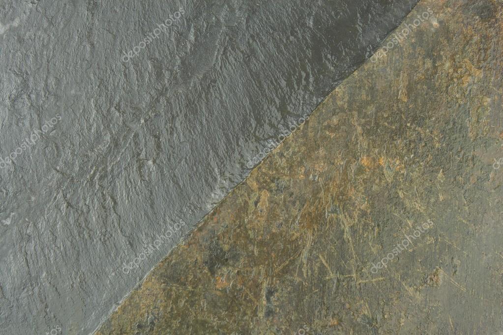 Dunkle Schiefer Tafel Textur Stein Gesäumt Schiefer Fliesen
