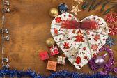 Vánoční přání. Ozdoby na dárky. Příprava na Štědrý den.