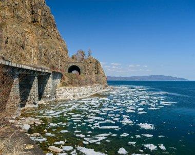 Spring on Circum-Baikal Railway