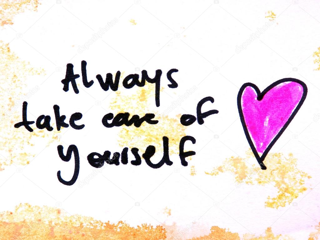 Always take care of yourself — Stock Photo © kukumalu80 ...