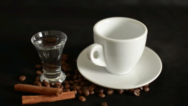Turkish coffee, Turk and Cup of water