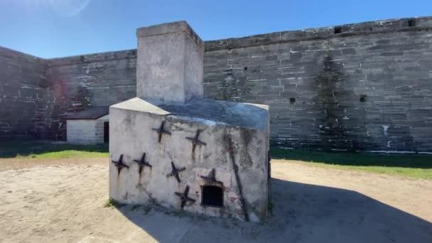 Hotshot furnace at Castillo de San Marcos, St. Augustine, Florida, USA