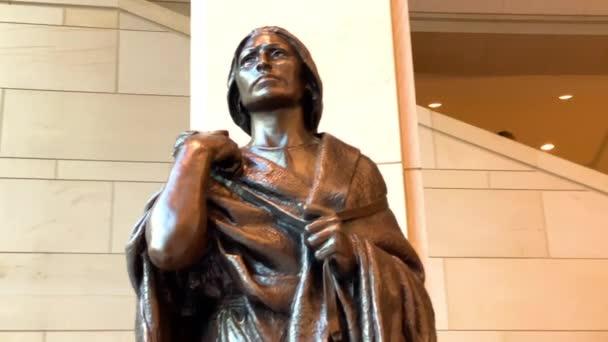 Washington. 29. Dezember 2019. Die Statue von Sakakawea im Kapitol der Vereinigten Staaten, Washington DC, USA