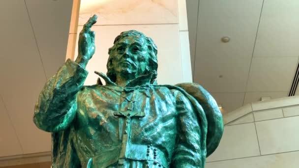 Washington. 29. Dezember 2019. Die Statue von Eusebio Francisco Kino, S.J. im Kapitol der Vereinigten Staaten, Washington DC, USA