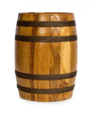 Barrel isolated on white