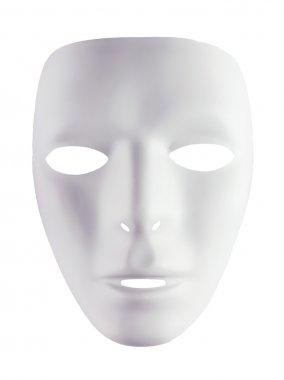 White mask for drama