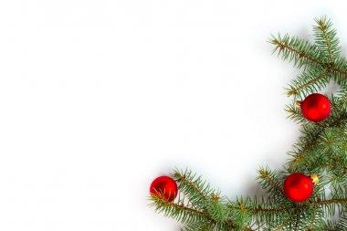 Fir tree wich decoration