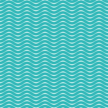 Seamless Waves pattern background. Used for wallpaper, pattern files, web page background, blog, surface textures, graphic & Printing.