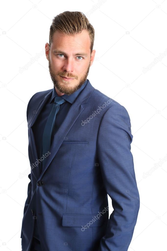 blu d'affari cravatta giacca in e Uomo wtd46Zqx4